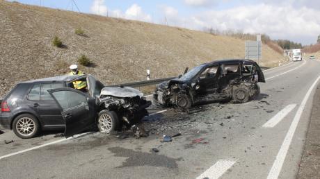 Auf der B17 bei Landsberg ist es am Dienstagvormittag zu einem Unfall gekommen.