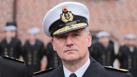 Admiral Kay-Achim Schönbach soll der Marine als neuer Inspekteur Impulse geben, um aus der Krise zu kommen.