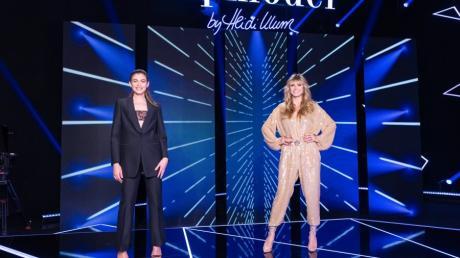 Schauspielerin und Model Valentina Sampaio unterstützt Heidi Klum in Episode acht als Gastjurorin.