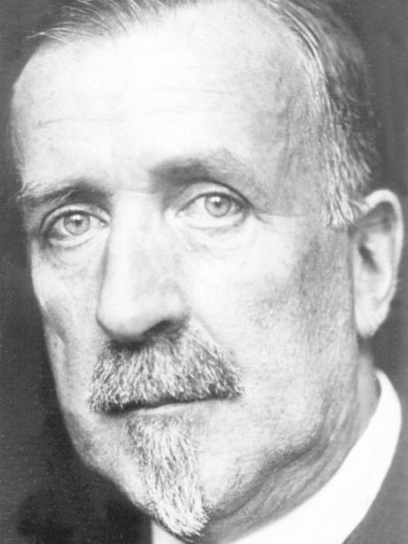 Writer Heinrich Mann.