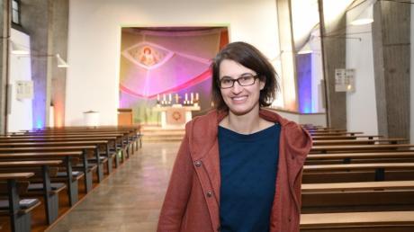 Alicia Menth wird neue Pfarrerin der evangelischen Gemeinde Steinheim. Am Ostermontag verabschiedet sie sich von ihrer bisherigen Gemeinde in Lauingen.