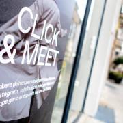 Mit Termin und negativem Corona-Test kann man im Landkreis Aichach-Friedberg weiterhin einkaufen.