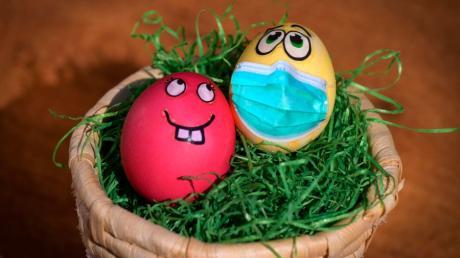 An Ostern heißt es im Wittelsbacher Land, die Corona-Beschränkungen einzuhalten.  Die Inzidenz liegt wieder über 100.