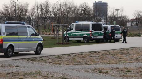 Die Polizei wird über Ostern an Grünanlagen und in Parks wie hier dem Reese-Park verstärkt kontrollieren.