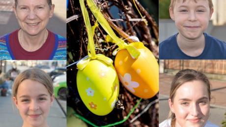Diese Woche wollten wir von Passanten in Illertissen wissen: Welche Osterbräuche pflegen Sie?