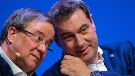 Laschet oder Söder? Die K-Frage wird in der Union längts nicht mehr nur freundlich diskutiert.
