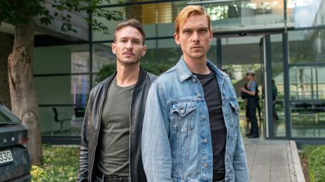Haben ihre eigene Vorgeschichte: Leo Hölzer (Vladimir Burlakov) und Adam Schürk (Daniel Sträßer). Szene aus dem Saarbrücken-Tatort heute.