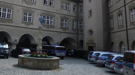 Im Innenhof des Neuen Baus wurde Altbürgermeister Albrecht Harsdörfer hingerichtet.