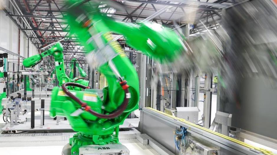 Die Erholung der Industrie hat auch in Schwaben an Tempo gewonnen.