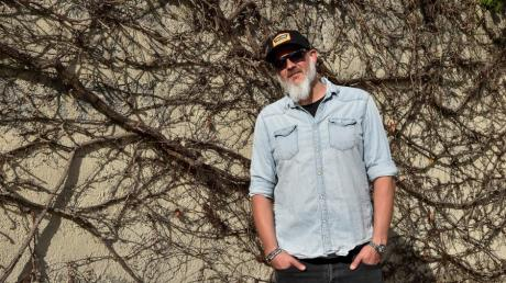 """Der Landsberger Christian Seidl alias Winston hat seine neue Single """"Endorphin"""" herausgebracht. Der 43-jährige Hobbyrapper ist Vater zweier Töchter."""