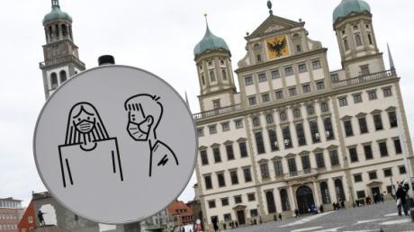 Der Corona-Inzidenzwert in Augsburg lag am Donnerstag zum zweiten Mal in Folge über 200. Bleibt er so hoch, gelten ab Samstag vor allem beim Einzelhandel strengere Regeln.