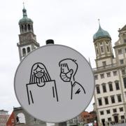 Wie entwickelt sich die Pandemie? In Augsburg gabt es zuletzt einen Trend nach unten – allerdings mit Rückschlägen.