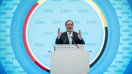 Wer wird Kanzlerkandidat der Union? Vieles spricht für Armin Laschet.