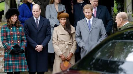 Priz William und Prinz Harry werden sich auf der Beerdigung nach mehreren Skandalen erstmals wieder sehen. Das Bild stammt aus 2017.