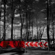 Wittelsbacher Park. Schilder.