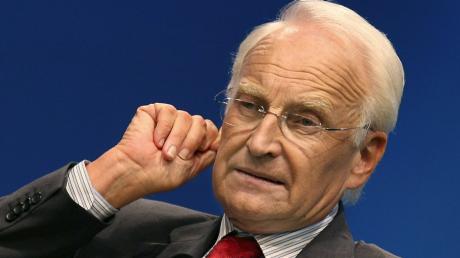 Der CSU-Ehrenvorsitzende Edmund Stoiber kritisert die EU-Kommission scharf