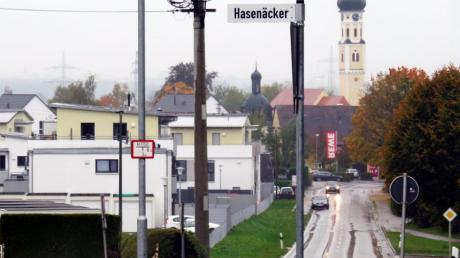 Im Pfaffenhofener Neubaugebiet Hasenäcker sollen günstige Wohnungen gebaut werden.