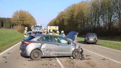 Auf der Staatsstraße 2510, zwischen Günzburg und Burgau, hat es am Dienstag an der Abzweigung nach Nornheim gekracht.