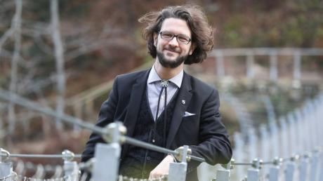 Johannes Kretschmann ist Sohn des Ministerpräsidenten von Baden-Württemberg. Er will in die Bundespolitik.