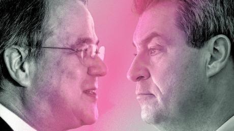 Armin Laschet und Markus Söder greifen nach der Kanzlerkandidatur und dem mächtigsten Regierungsamt in der Bundesrepublik. Wer von beiden wäre als Kanzler besser geeignet?