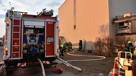 Bei der Firma ESG Kräuter in Hamlar hat es am Mittwochabend gebrannt.