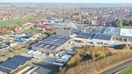 Die Firma Ritter im Süden von Schwabmünchen: Sie ist in den letzten Monaten gewachsen. Jetzt wird sie an den amerikanischen Konzern Avantor verkauft.