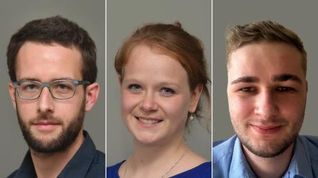 Der Theodor-Wolff-Preis zählt zu den renommiertesten Journalistenpreisen in Deutschland. Christina Heller-Beschnitt, Axel Hechelmann (links) und Fabian Huber sind für die Auszeichnung nominiert.