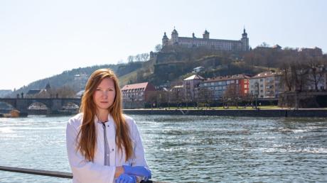 Biologin Amelie Reigl aus Würzburg hat auf TikTok mit wissenschaftlichen Inhalten enorme Reichweite.