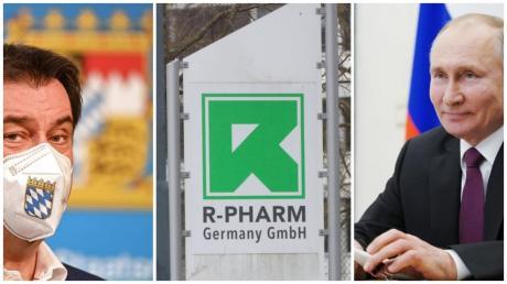 Bei R-Pharm in Illertissen soll Impfstoff hergestellt werden. Wem spielt das in die Karten?