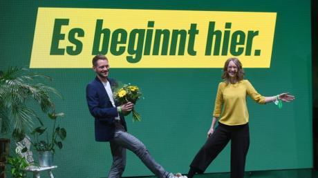 Thomas von Sarnitzky ist der neue Vorsitzende der bayerischen Grünen.