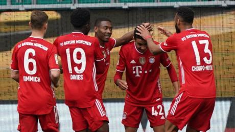 Münchens Mittelfeldspieler Jamal Musiala avancierte zum Matchwinner.