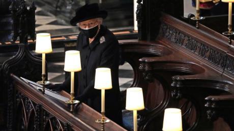 Königin Elizabeth II. nahm Abschied von ihrem Ehemann Prinz Philip.