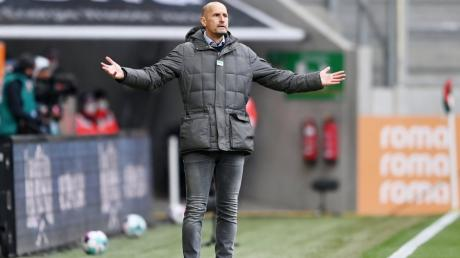 Trainer Heiko Herrlich weiß um die Bedeutung des Köln-Spiels.