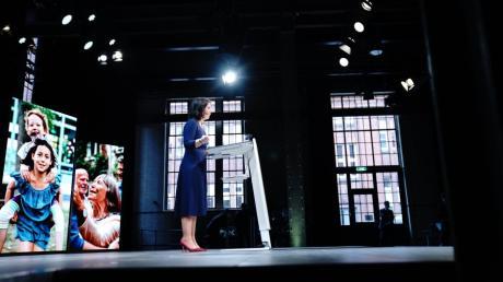 Grünen-Vorsitzende Annalena Baerbock wird für die Partei als Kanzlerkandidatin ins Rennen gehen