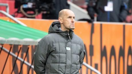 Vorbei: Heiko Herrlich ist nicht mehr Trainer des FC Augsburg.