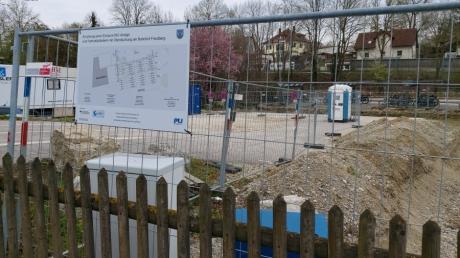 Am Friedberger Bahnhof werden eine neue Toilettenanlage und zusätzliche Radlständer errichtet - allerdings an einem anderen Platz als ursprünglich vorgesehen.
