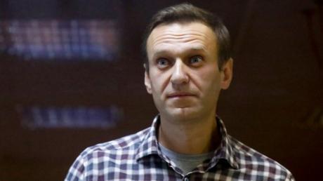 Alexej Nawalny befindet sich aktuell im Hungerstreik. Das Foto zeigt ihn vor seiner Inhaftierung