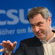 CSU-Chef Markus Söder liegt mit seinen Beliebtheitswerten vor seiner eigenen Partei.