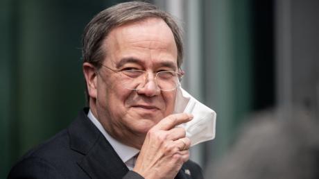 Armin Laschet, CDU-Bundesvorsitzender und Ministerpräsident von Nordrhein-Westfalen, geht ins Rennen um die Kanzlerschaft.