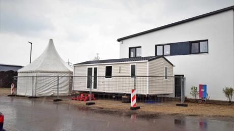 Das Schnellteszzentrum in Karlshuld  ist einsatzbereit und soll am 3. Mai eröffnen.
