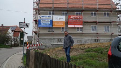Martin Gaugler hat sich der alten Vogtei im Buttenwiesener Ortsteil Unterthürheim angenommen.