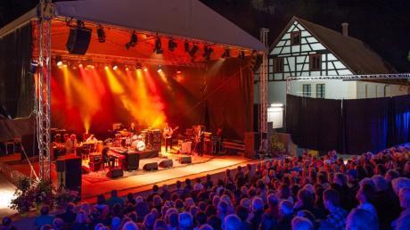 Lauschige Festivalabende am Blautopf soll es auch 2021 wieder geben.