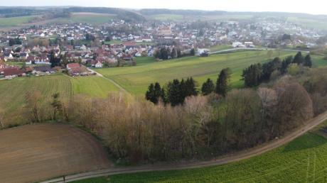 In einem Teilabschnitt der alten Aindlinger Sandgrube in der Verlängerung der Kolpingstraße soll ein Dirt-Park für jugendliche Radfahrer entstehen.