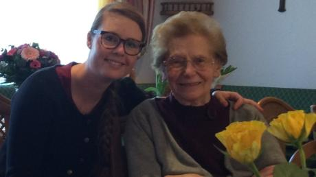 Enkeltochter Lisa, die die Gaststätte Fendt in vierter Generation übernahm, war der ganze Stolz von Elisabeth Fendt.