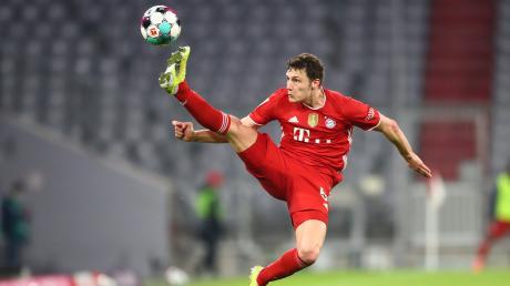 Benjamin Pavard und der FC Bayern machten mit dem 2:0-Sieg gegen Bayer Leverkusen einen weiteren großen Schritt in Richtung Deutscher Meisterschaft.