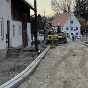 Die Anwohner der Frauenstraße ärgern sich über die Baustelle. Doch bereits in zwei bis drei Wochen sollen die Arbeiten abgeschlossen sein.