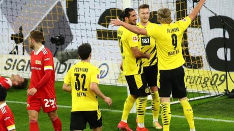 Borussia Dortmund gewann daheim gegen Union Berlin.
