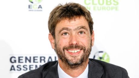 Log derart, dass selbst Uefa-Boss Ceferin empört war: Andrea Agnelli.
