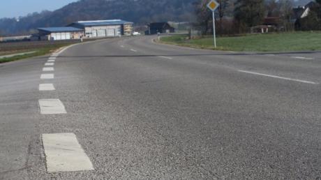 Die Straße zwischen Filzingen und Kellmünz wird saniert.