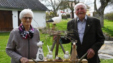 Vor 60 Jahren läuteten für Emma und Ludwig Wanner in Scherstetten die Hochzeitsglocken. Heute feiern sie ihre diamantene Hochzeit.
